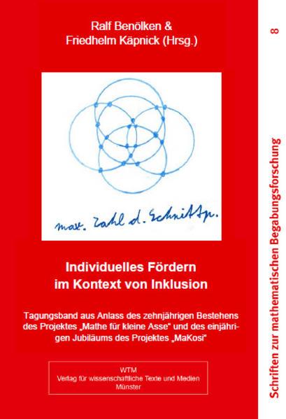 Individuelles Fördern im Kontext von Inklusion - Coverbild