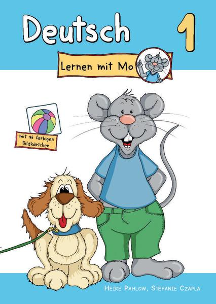 Deutsch lernen mit Mo - Teil 1 - Coverbild