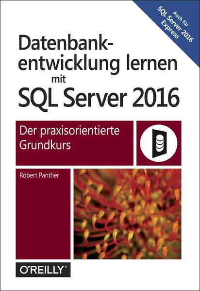 Datenbankentwicklung mit SQL Server 2016 - Coverbild