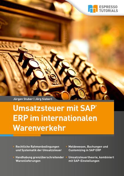 Umsatzsteuer mit SAP ERP im internationalen Warenverkehr - Coverbild