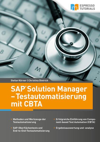 SAP Solution Manager - Testautomatisierung mit CBTA - Coverbild