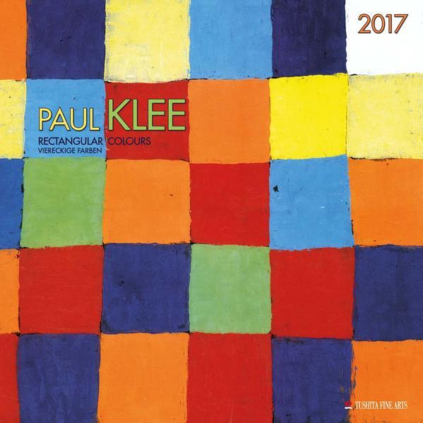 Paul Klee – Rectangular Colours 2017 - Coverbild