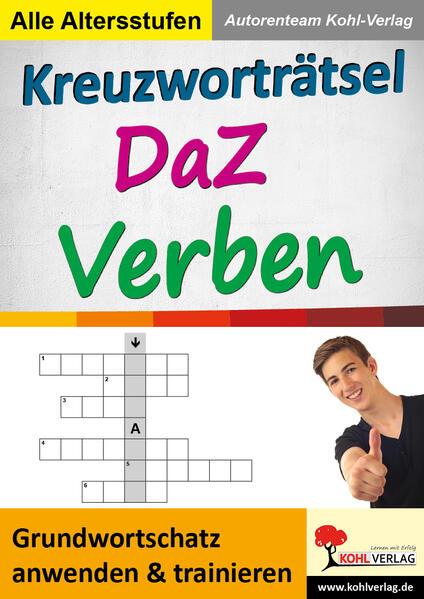 Kreuzworträtsel DaZ - Verben PDF Kostenloser Download