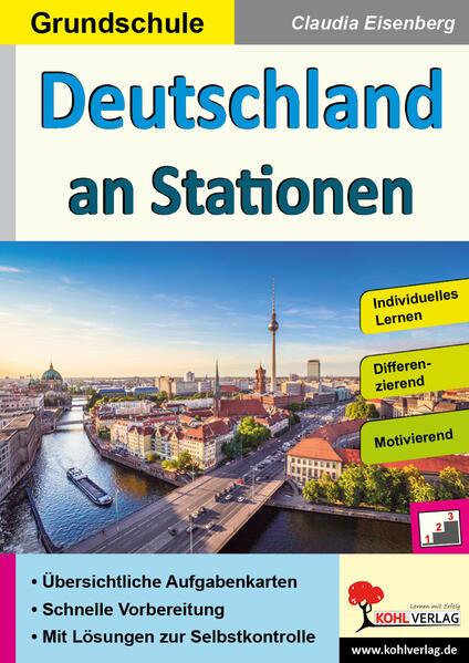 Deutschland an Stationen / Grundschule - Coverbild