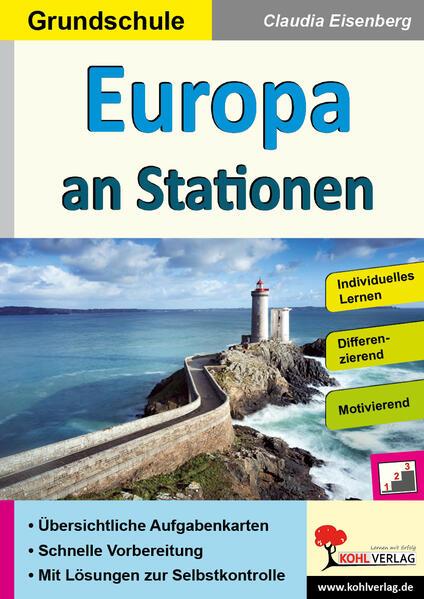 Europa an Stationen / Grundschule - Coverbild