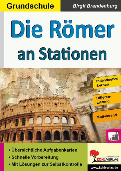 Die Römer an Stationen - Coverbild