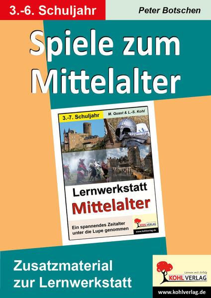 Spiele zum Mittelalter - Coverbild