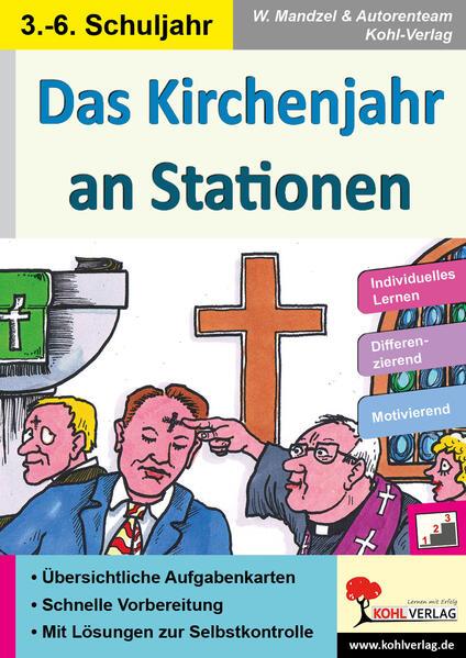 Das Kirchenjahr an Stationen - Coverbild