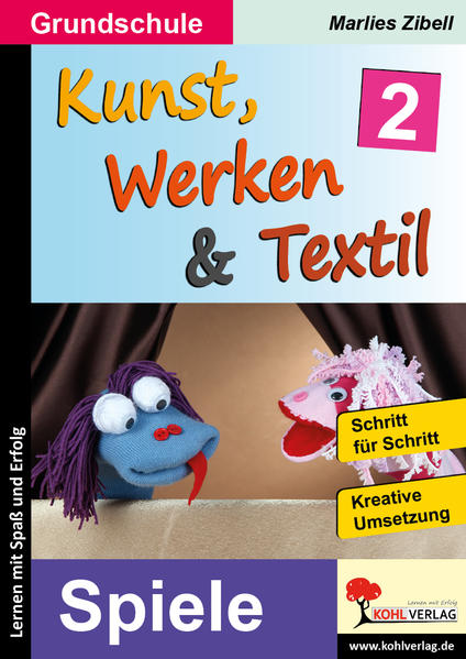 Kunst, Werken & Textil / Band 2 - Coverbild