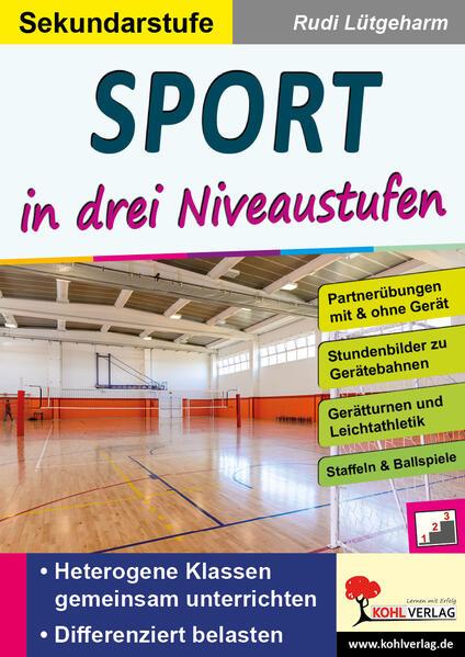 Sport ... in drei Niveaustufen / Sekundarstufe - Coverbild