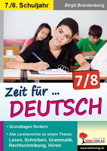 Zeit für Deutsch / Klasse 7-8 - Coverbild