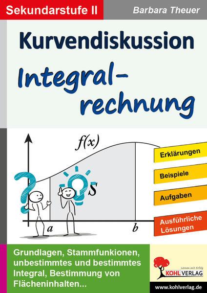Kurvendiskussion / Integralrechnung - Coverbild