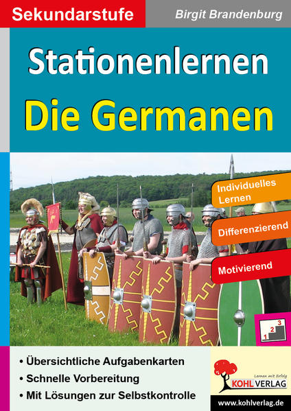 Stationenlernen Die Germanen - Coverbild