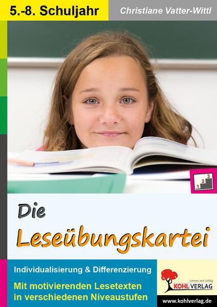 Die Leseübungskartei - Coverbild