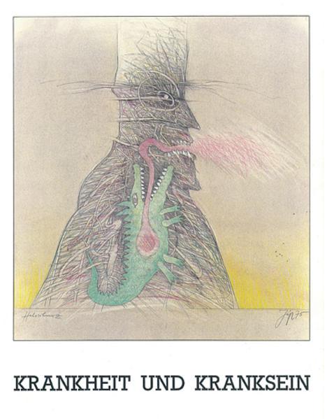 Krankheit und Kranksein in der Gegenwartskunst - Coverbild
