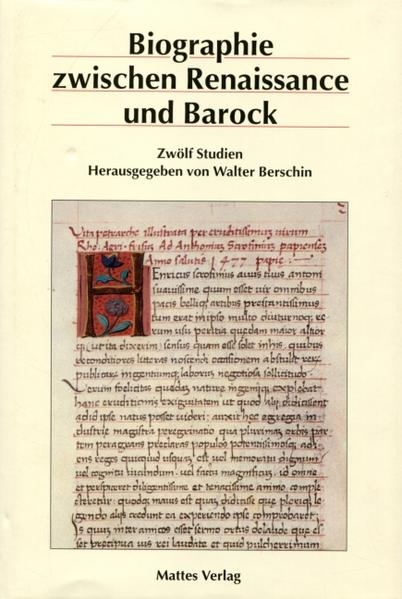 Biographie zwischen Renaissance und Barock - Coverbild