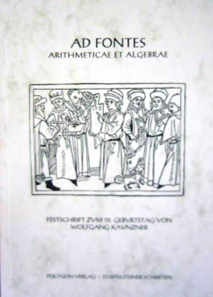 Ad Fontes Arithmeticae et Algebrae - Coverbild
