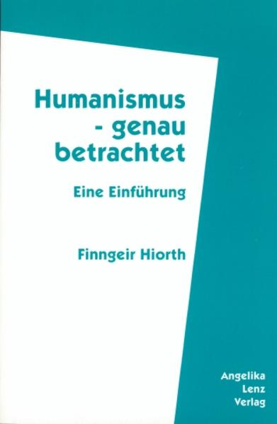 Humanismus - genau betrachtet - Coverbild