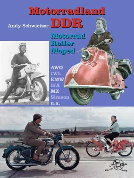 Motorradland DDR - Coverbild