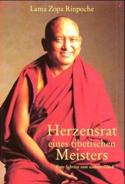 Herzensrat eines tibetischen Meisters - Coverbild