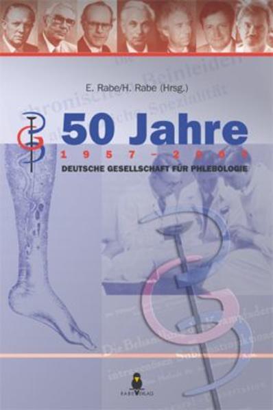 50 Jahre Deutsche Gesellschaft für Phlebologie - Coverbild