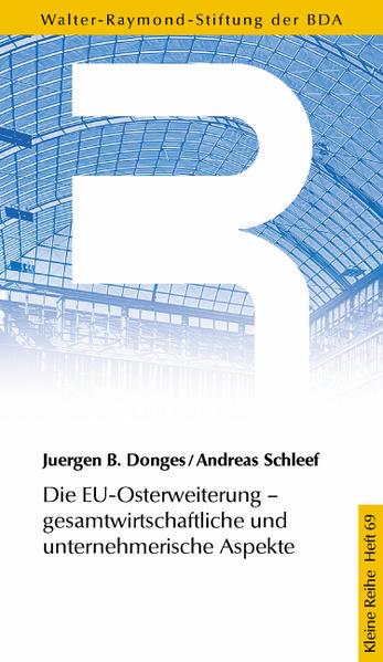 Die EU-Osterweiterung - Gesamtwirtschaftliche und unternehmerische Aspekte - Coverbild