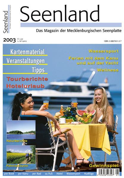 Seenland 2003 - Coverbild