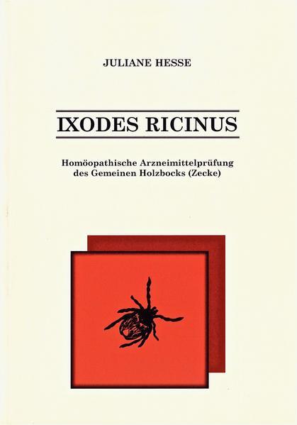 Ixodes ricinus - Coverbild