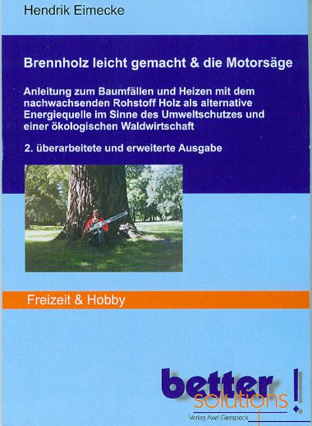 Brennholz leicht gemacht & die Motorsäge - Coverbild
