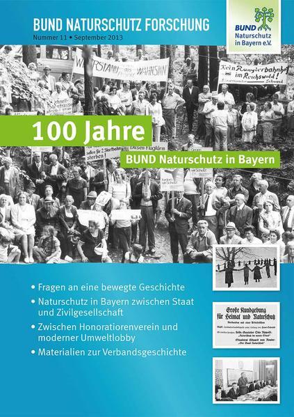100 Jahre Bund Naturschutz in Bayern - Coverbild