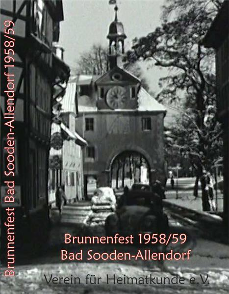 Brunnenfest 1958/59 Bad Sooden-Allendorf - Coverbild