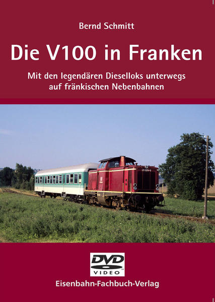 Die V 100 in Franken - Coverbild