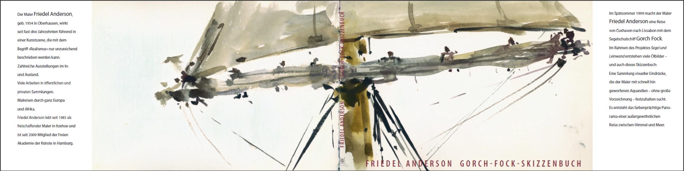 Gorch-Fock-Skizzenbuch - Coverbild