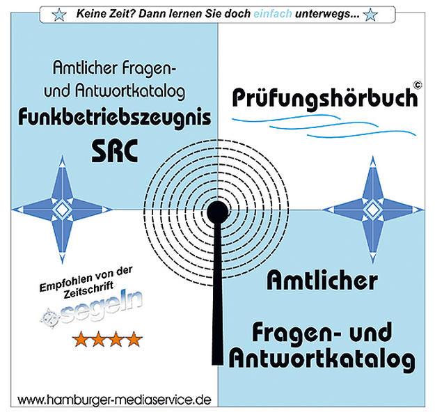 Prüfungshörbuch für das eingeschränkte Funkbetriebszeugnis SRC - Coverbild