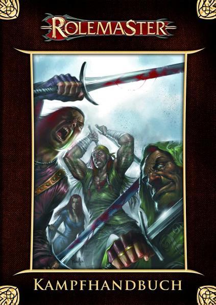 Rolemaster - Kampfhandbuch - Coverbild