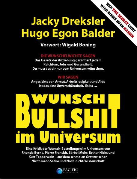 Wunsch-Bullshit im Universum - Coverbild