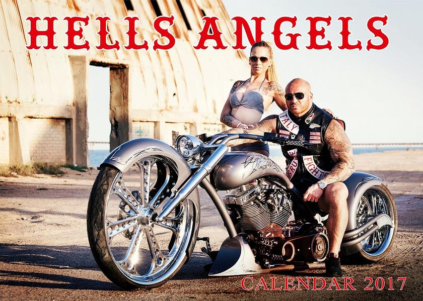 Hells Angels MC Calendar 2017 - Coverbild