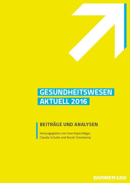 Gesundheitswesen aktuell 2016 - Coverbild