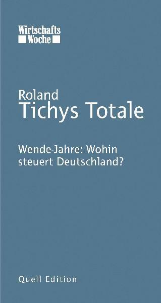 Tichys Totale - Coverbild