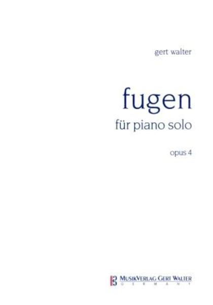 Fugen für Piano solo - Coverbild
