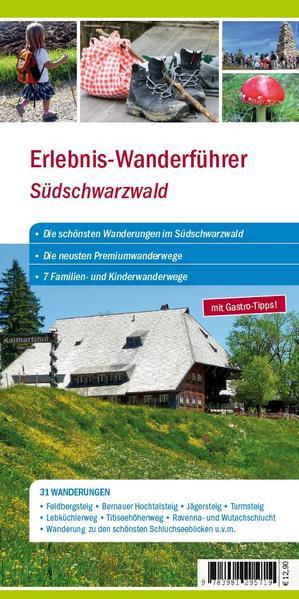 Erlebniswanderführer Südschwarzwald - Coverbild