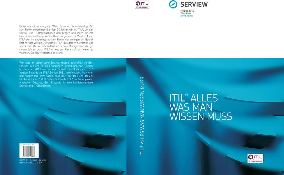 ITIL® - Alles was man wissen muss - Coverbild
