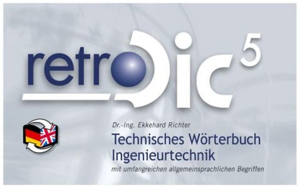 Technisches Wörterbuch retroDic 5 Ingenieurtechnik - Coverbild