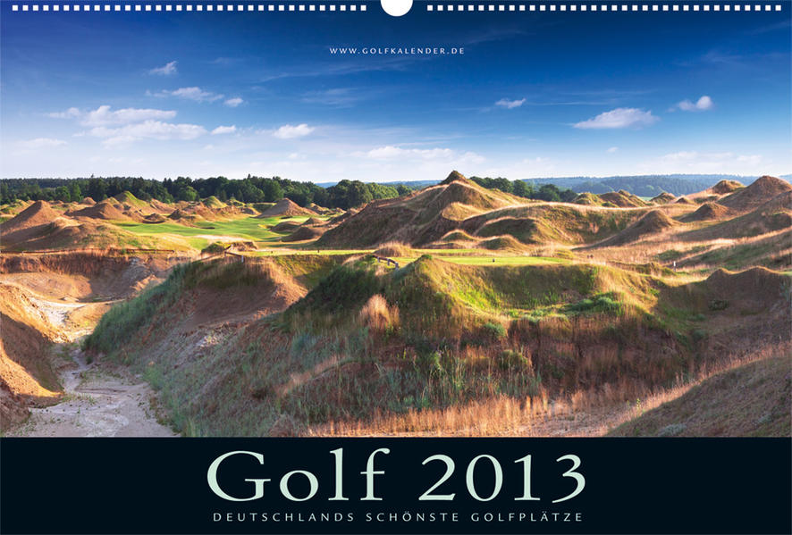 Golfkalender 2013 - Coverbild