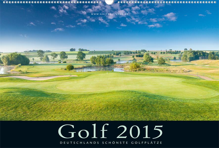 Golfkalender 2015 - Coverbild