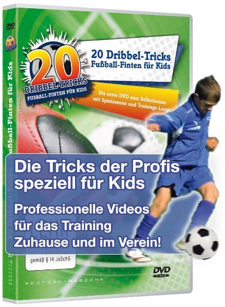 20 Dribbel-Tricks - Fußball-Finten für Kids PDF Herunterladen