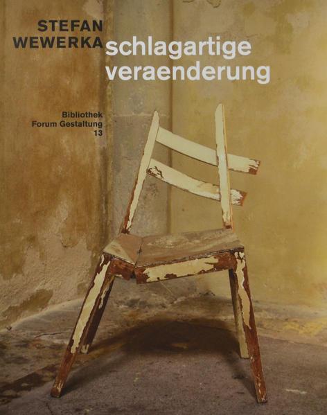 STEFAN WEWERKA schlagartige veraenderung - Coverbild