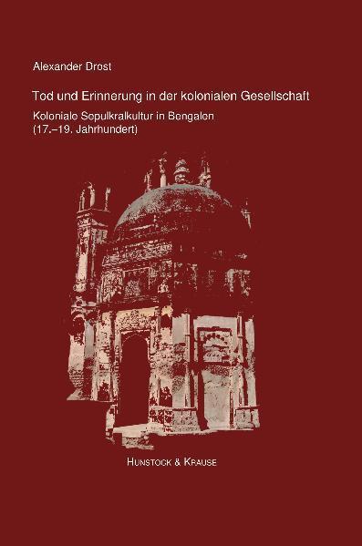 Tod und Erinnerung in der kolonialen Gesellschaft - Coverbild
