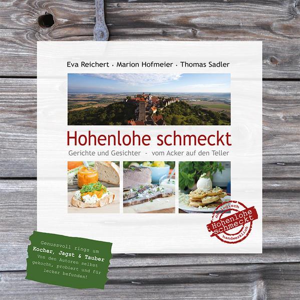 Hohenlohe schmeckt - Coverbild