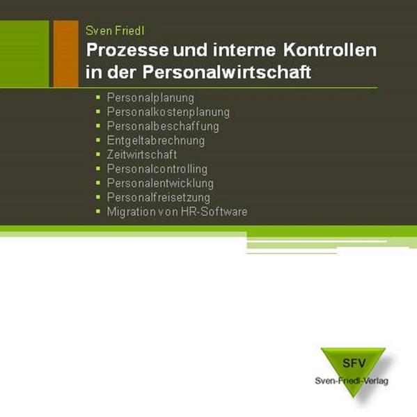 Prozesse und interne Kontrollen in der Personalwirtschaft - Coverbild